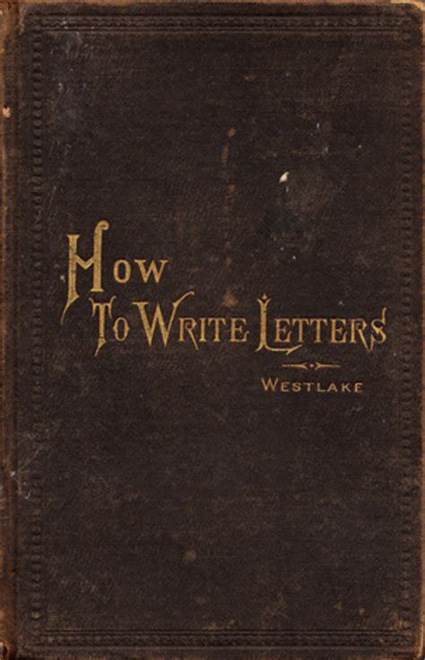 how to write letters a vintage guide to the lost of
