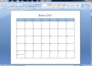 Como Hacer Un Calendario Con Fotos C 243 Mo Crear Calendarios En Word 5 Pasos Con Im 225 Genes