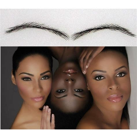 eyebrow shaping on african americans african american eyebrows ac4 afro eyebrow enhancer human