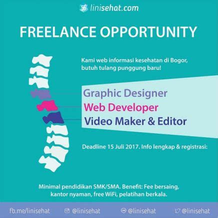 freelance graphic design jobs indonesia graphic designer web developer video maker editor