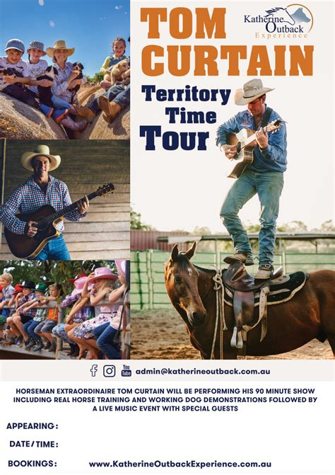 tom curtain territory time tour wa katherine outback experience