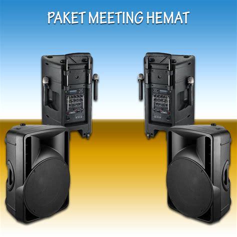 Speaker Aktif Nla paket sound system hemat nla