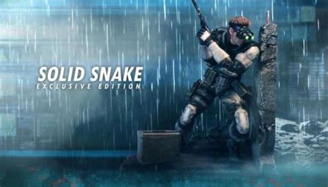 First4figures Mgs Solid Snake Statue First4figures Unveils Impressive Metal Gear Solid 1 Solid