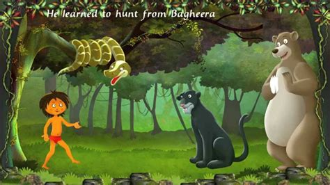 the jungle book book report jungle book an interactive story book for childern in