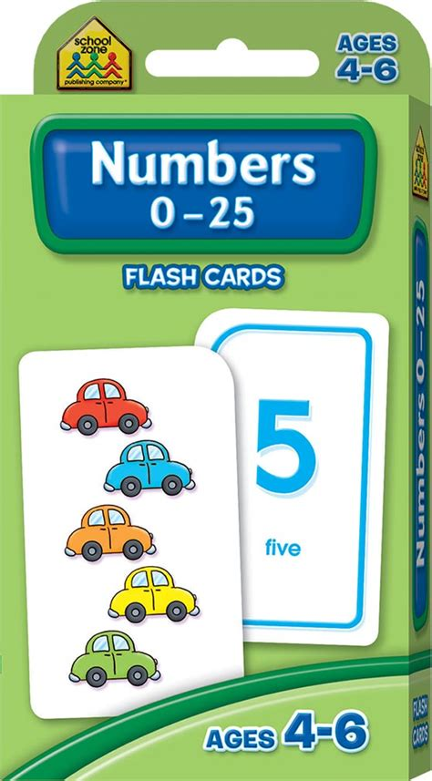 Hinkler Flashcards Addition 0 12 school zone numbers 0 25 flash cards school zone