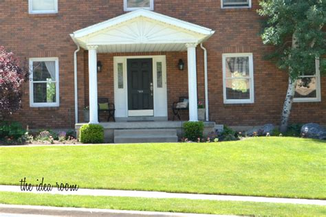 front curb appeal lowe s curb appeal challenge giveaway the idea room