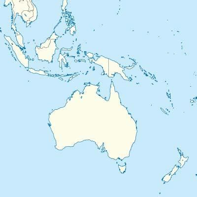 oceania map with country names countries of oceania map quiz