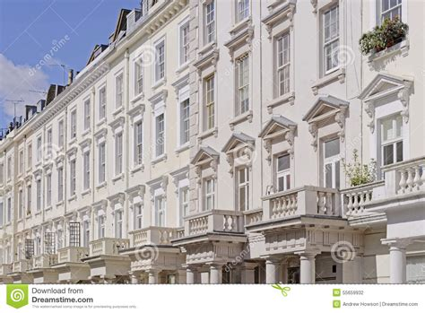 london towne houses georgian terraced town houses stock photo image 55659932