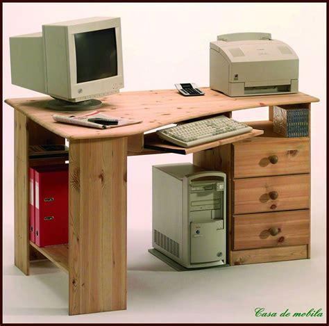 Eck Pc Schreibtisch by Schreibtisch Pc Eckschreibtisch Eck Computertisch Holz
