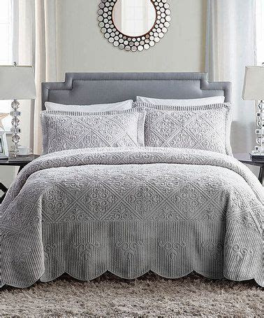 grey quilts and coverlets victoria classics gray westland quilted bedspread set