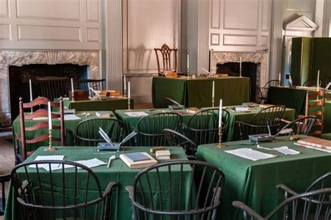 Independence Interior by Carpenters Picture Of Independence National