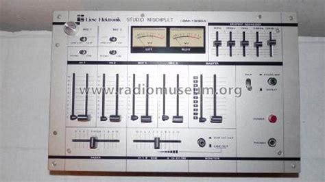 Mixer Elektronik mischpult dm1500a l mixer liese elektronik wildeshausen