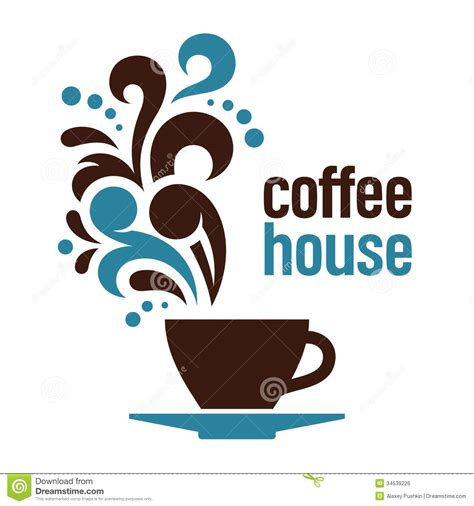 house of coffee coffee house royalty free stock image image 34539226