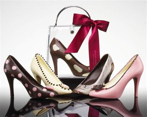 chocolate high heel shoes edible shoes purses and bags