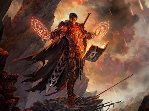 how diablo became spirit books mage books artwork realistic diablo iii swords