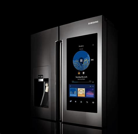 samsung hub meet the smartest refrigerator in the world