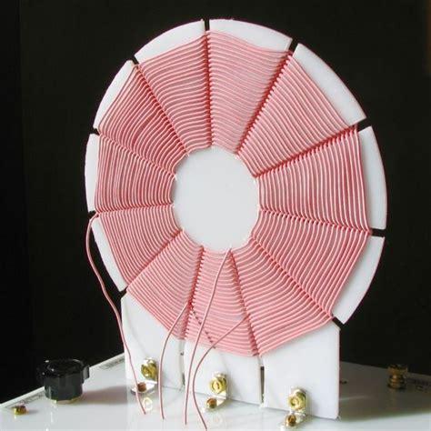 litz inductors radio litz wire contra wound coils at makearadio