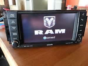 Dodge Ram Sirius Radio 2012 2011 Dodge Ram 1500 2500 3500 Ntg4 Rhr Gps Sirius