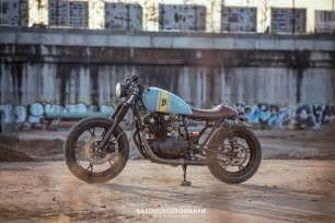 Suzuki Racer 450 Suzuki Gs450 Cafe Racer By Wrench Bikebound