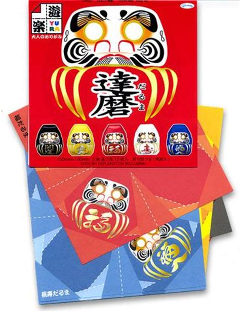 Origami Daruma - holidays and traditions japanese american national