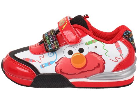 elmo shoes favorite characters sesame elmo 1sef002 lighted