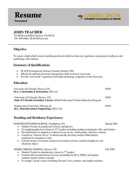 resume template for teachers physics resume best letter sle