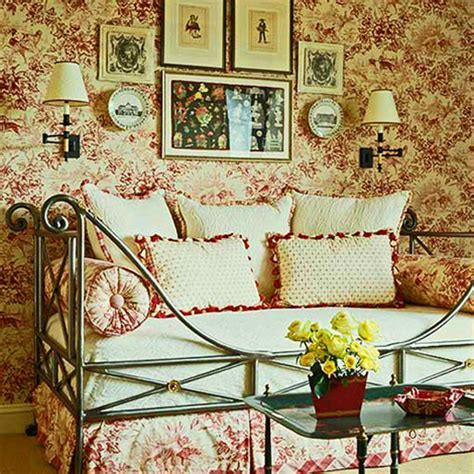 fabric home decor ideas decorating ideas toile fabric traditional home