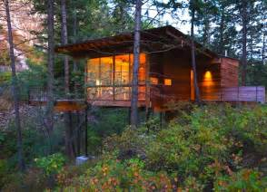 gorgeous flathead lake cabin is a minimalist home for the