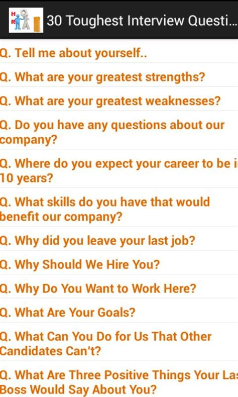 interview questions hr interview questions ans android apps on google play