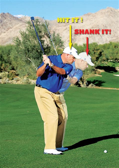 what causes a shank in golf swing the curious case of shanks what is a shank in golf