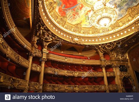 Chagall Ceiling by Chagall S Ceiling The Auditorium Palais Garnier Opera House Stock Photo Royalty Free