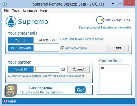 supremo remote software supremo remote desktop 3 0 1 375 remote desktop