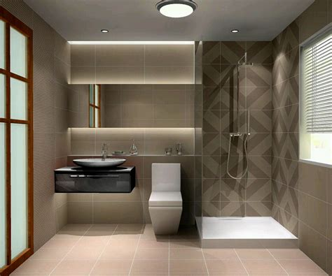 Contemporary Bathroom Design Ideas | small modern bathroom design 2017 grasscloth wallpaper