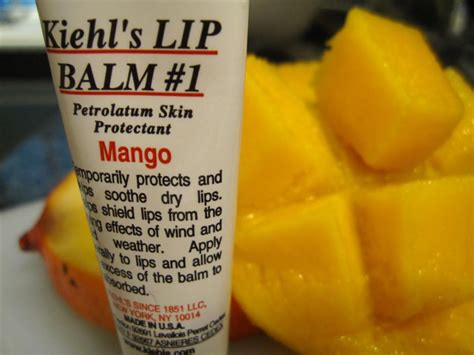 Kiehls Lip Balm Mango what do you i can t eat it thecattylife
