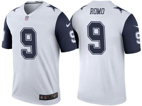 youth white tony romo 9 jersey brilliant p 1082 tony romo jersey get tony romo lemited and elite
