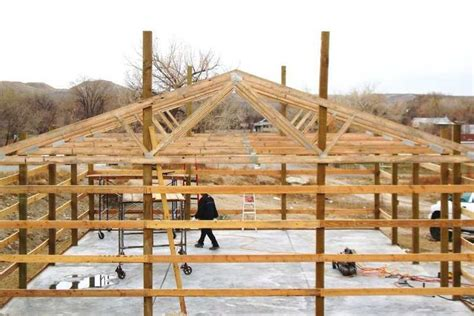 easy pole barn designs post frame garage plans 171 home plans home design the farm