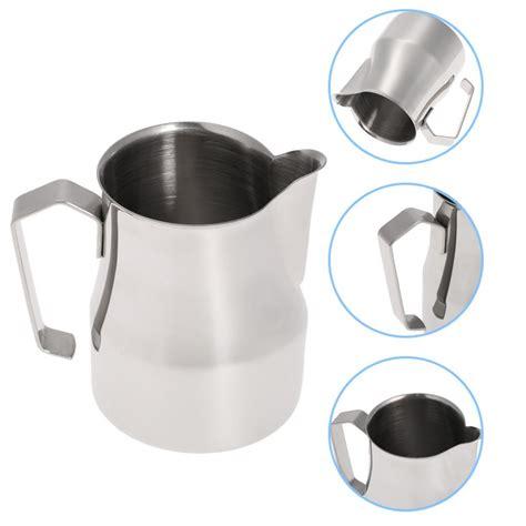 Cook Master Milk Jug Mug Stainless Pembuih 350ml 12 Oz popular latte pitcher buy cheap latte pitcher lots from china latte pitcher