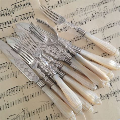 of pearl handles 17 best images about pearl handled flatware on