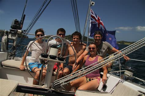 sailing boat hire new zealand kingfisher 38ft sailing boat in the bay of islands