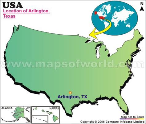 arlington usa map where is arlington located in usa
