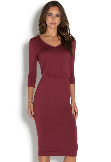 v neck knitted dress v neck knit dress shoedazzle