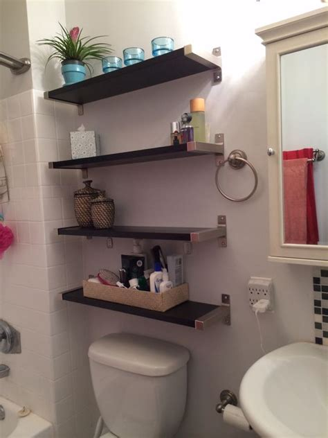 Small Bathroom Solutions Small Bathroom Solutions Ikea Shelves Bathroom Pinterest Toilets Towels And Sinks