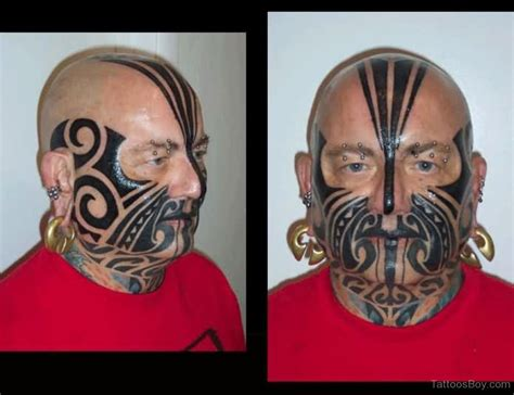 tribal tattoo on face tribal tattoos designs pictures page 17