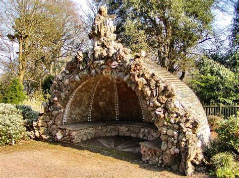 Backyard Grotto by Backyard Grotto Mount Edgecumb House Uk 18th Century