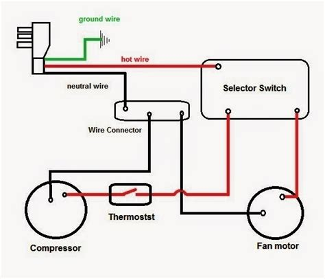 carrier window air conditioner wiring diagram