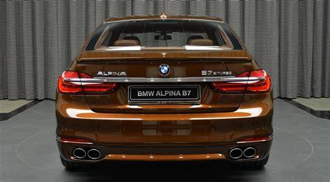 bmw alpina b7 biturbo in chestnut brown