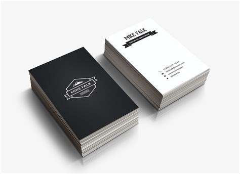 Business Card Template Preview by 5 Free Business Card Templates Themeco