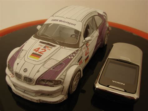 Bmw Papercraft - paper bmw m3 gtr by sina0 on deviantart