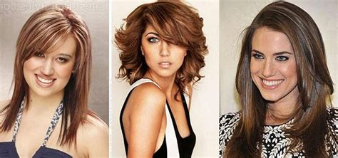 bangs for oblong faces and thick hair 15 ideas of long hairstyles oval faces thick hair
