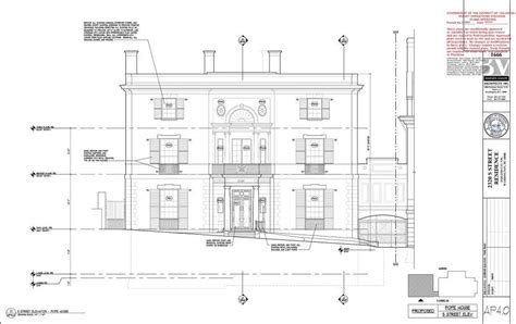 sle house floor plans 2018 take a look at the drawings for jeff bezos s new d c mansion news archinect